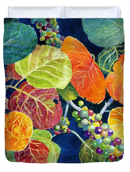 Sea Grapes II Duvet Cover