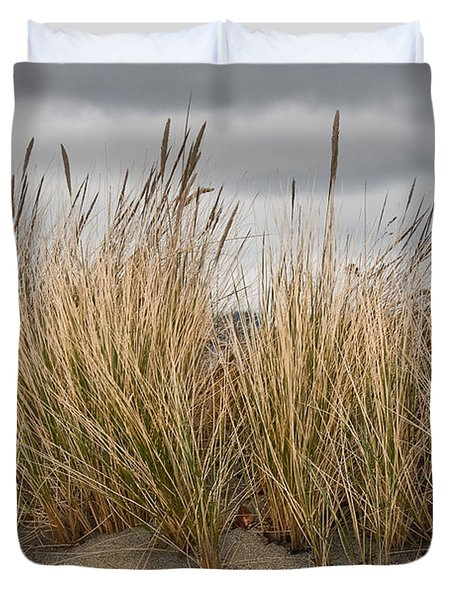 Sea Grass And Sand Duvet Cover