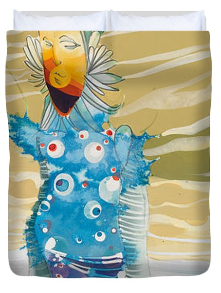 Sea Man Duvet Cover