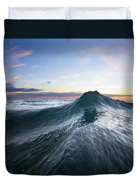 Sea Mountain Duvet Cover by Sean Davey