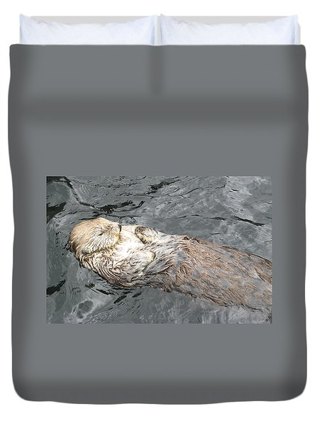 Sea Otter Duvet Cover