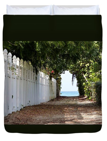 Passage To Sea Duvet Cover by Amar Sheow