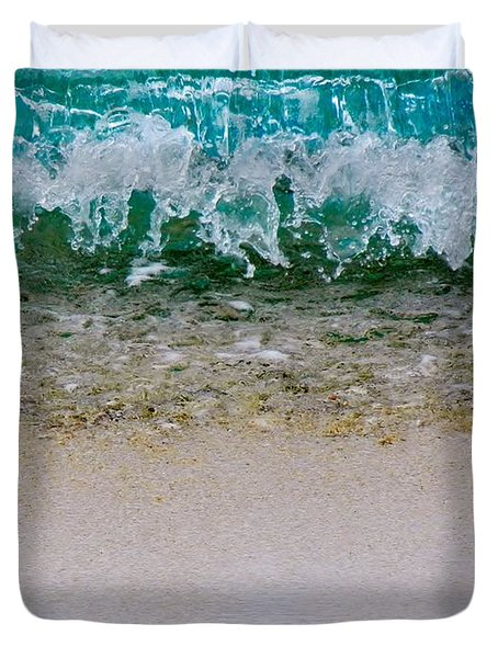 Sea Shore Colors Duvet Cover by Debra Martz