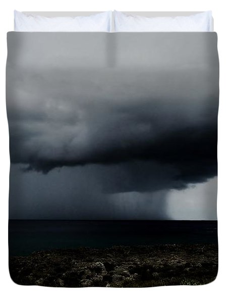 Sea Spout Duvet Cover by Amar Sheow
