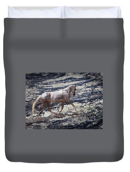 Sea Stallion Duvet Cover