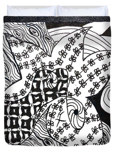 Sea Star Duvet Cover by Beverley Harper Tinsley