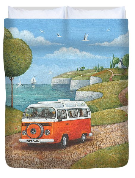 Sea Van Variant 1 Duvet Cover