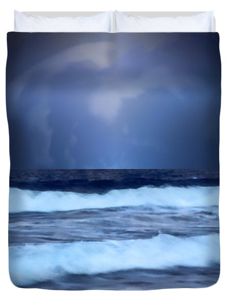 Sea Worlds Duvet Cover