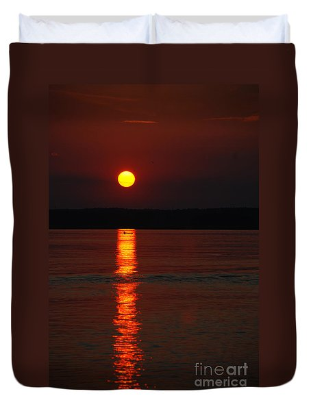 Seabrook Sunset Duvet Cover