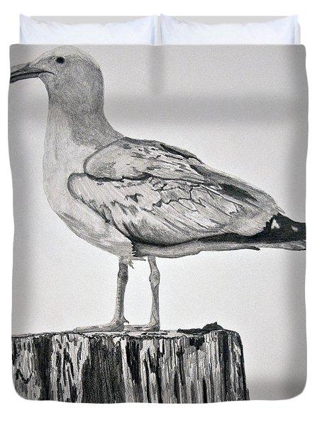 Seagull Duvet Cover by Chamar Radloff