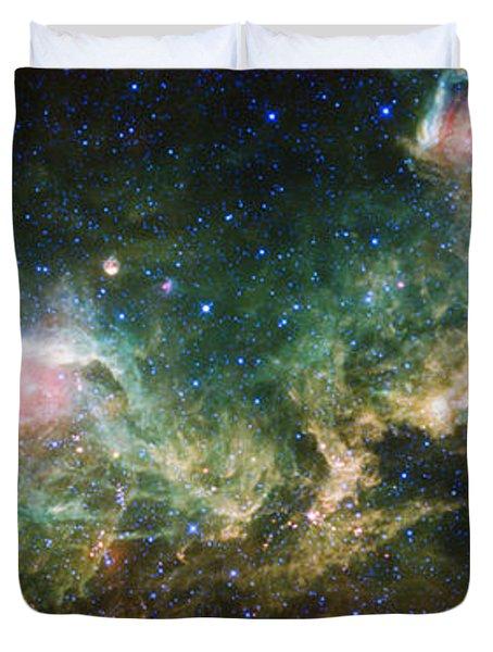 Seagull Nebula Duvet Cover by Adam Romanowicz
