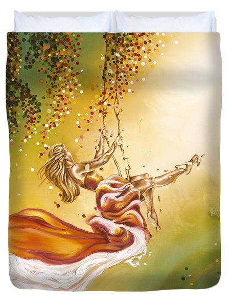 Search For The Sun Duvet Cover