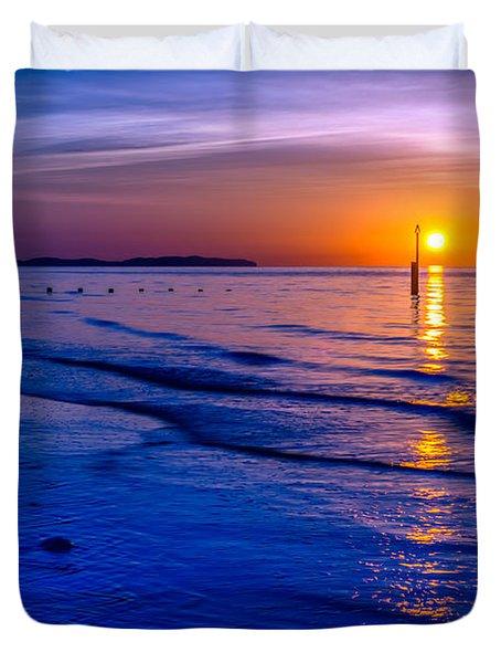 Seascape Duvet Cover by Adrian Evans