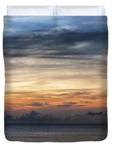 seascape Asia panorama BIG Duvet Cover