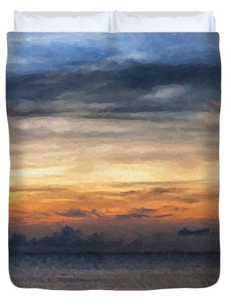 seascape Asia panorama BIG painting Duvet Cover