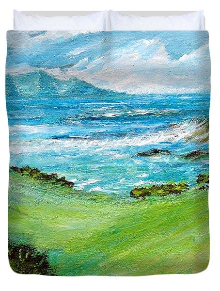 Seascape Duvet Cover by Mauro Beniamino Muggianu