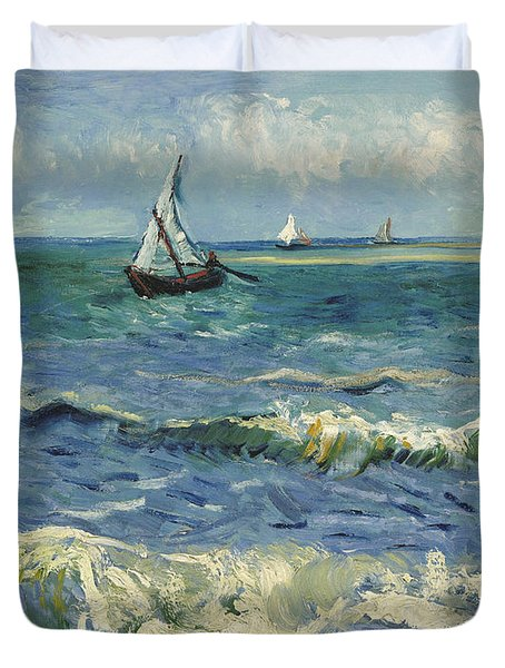 Seascape Duvet Cover
