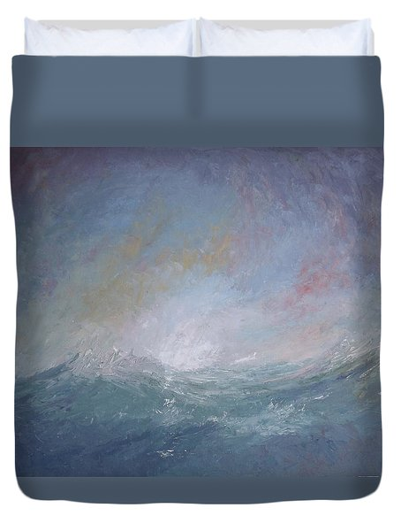 Seascape1 Duvet Cover by Sean Conlon