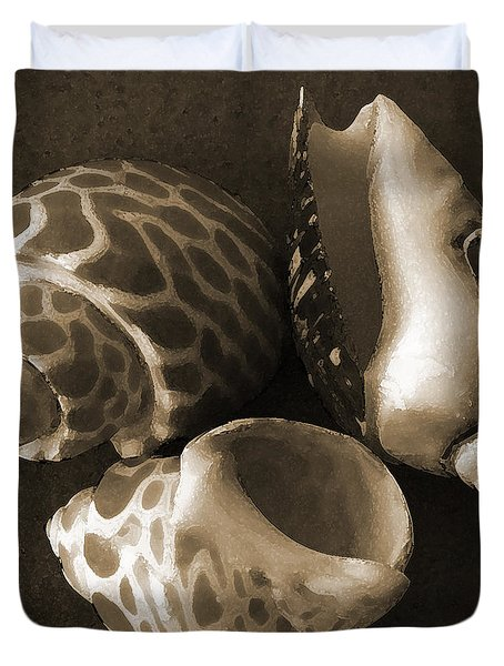 Seashells Spectacular No 1 Duvet Cover