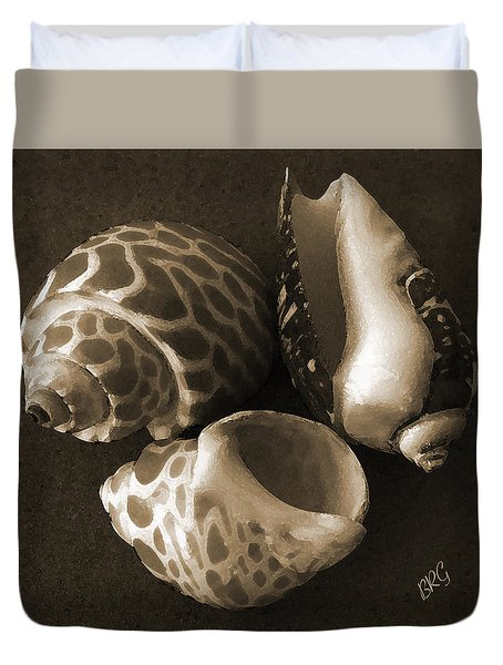 Seashells Spectacular No 1 Duvet Cover