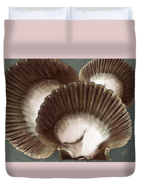 Seashells Spectacular No 22 Duvet Cover