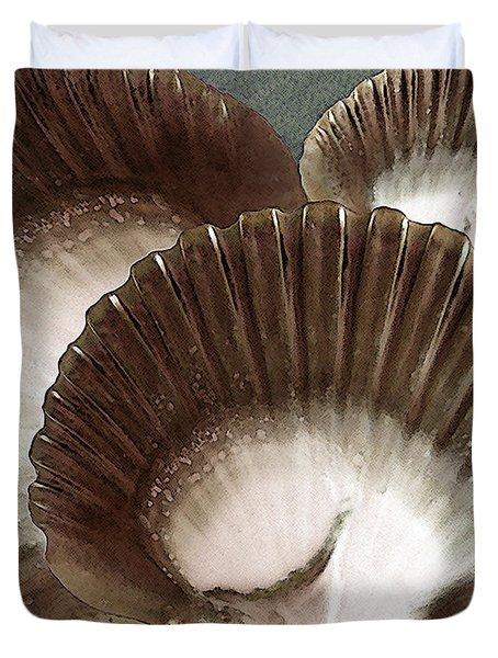 Seashells Spectacular No 22 Duvet Cover