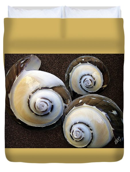 Seashells Spectacular No 23 Duvet Cover