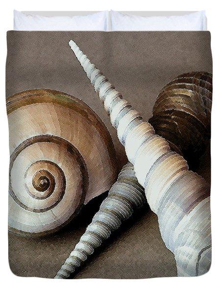 Seashells Spectacular No 24 Duvet Cover