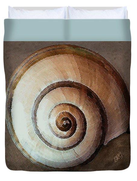Seashells Spectacular No 34 Duvet Cover by Ben and Raisa Gertsberg