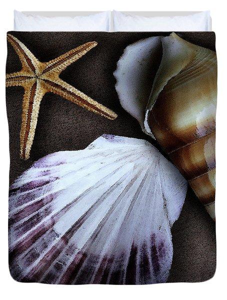 Seashells Spectacular No 37 Duvet Cover