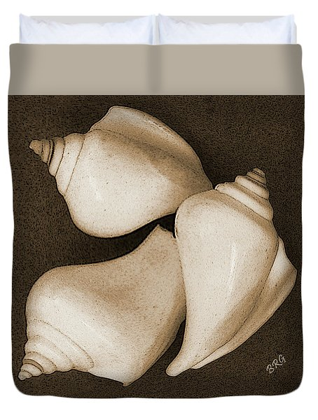 Seashells Spectacular No 4 Duvet Cover