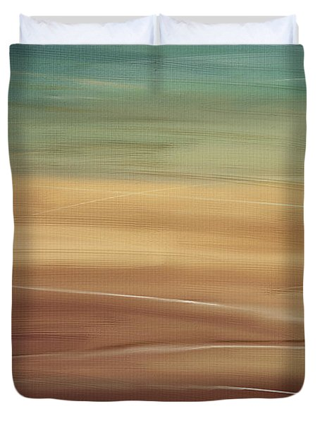 Seaside Duvet Cover by Lourry Legarde