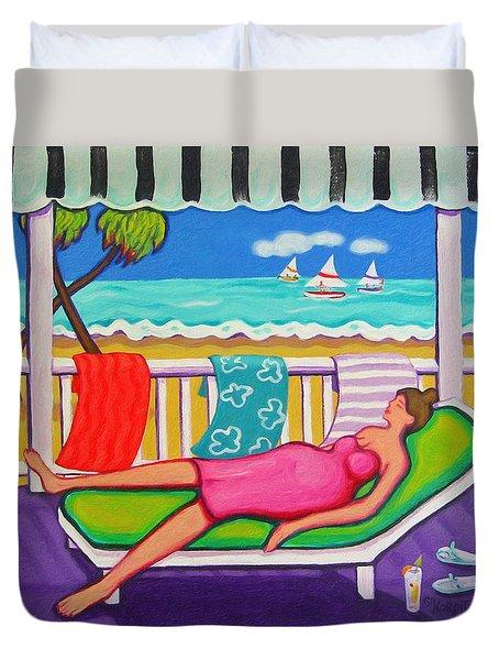 Seaside Siesta Duvet Cover