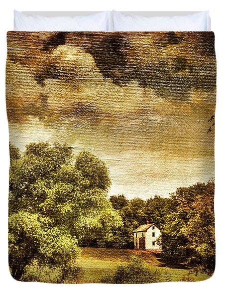 Seasons Change Duvet Cover by Lois Bryan