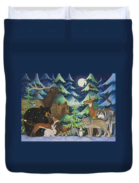 Spirit Of Peace Duvet Cover