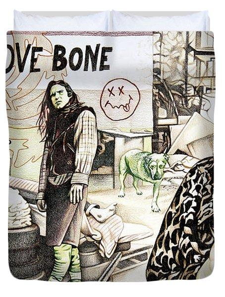 Seattle 1990's Duvet Cover