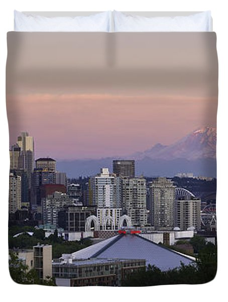 Seattle Sunset - Kerry Park Duvet Cover
