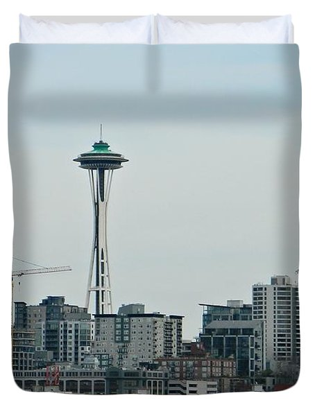 Seattle Washington Duvet Cover by Chalet Roome-Rigdon
