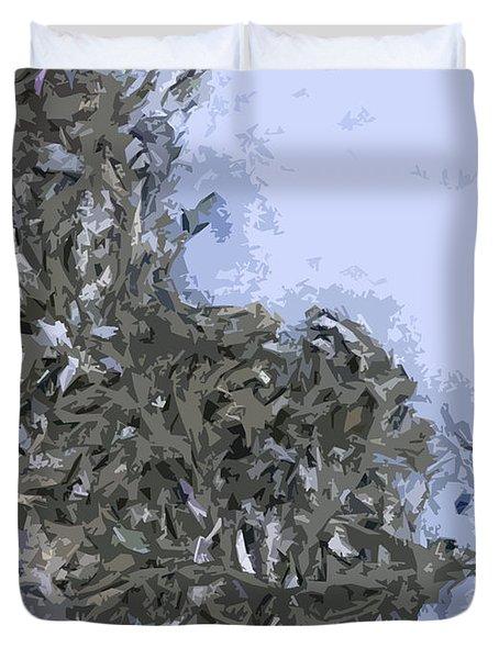 Seaweed Duvet Cover by Carol Lynch