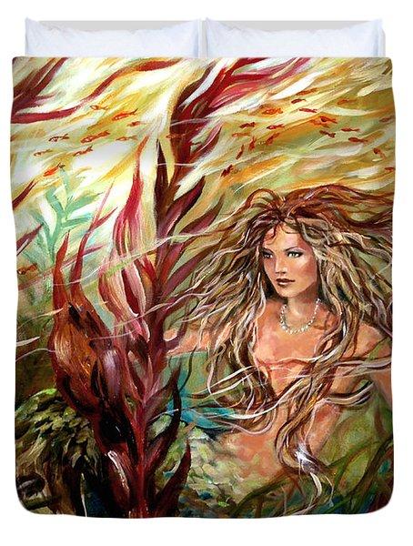 Seaweed Mermaid Duvet Cover