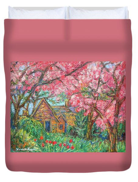 Secluded Home Duvet Cover by Kendall Kessler
