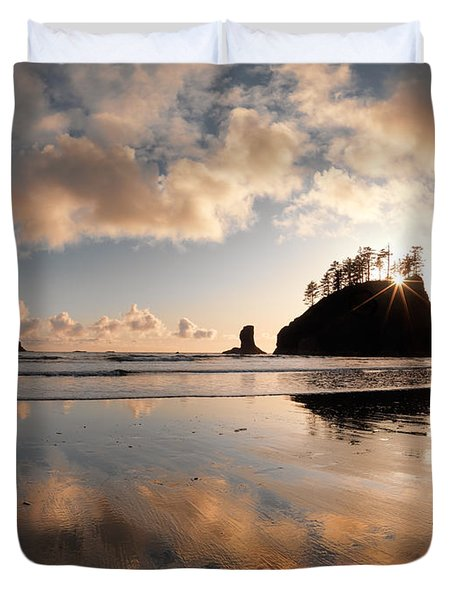 Second Beach Duvet Cover