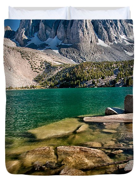 Second Lake And Temple Crag Duvet Cover