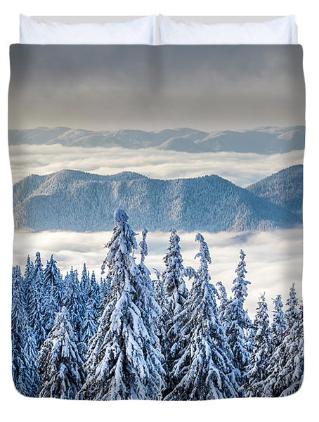 Second Level Duvet Cover by Evgeni Dinev