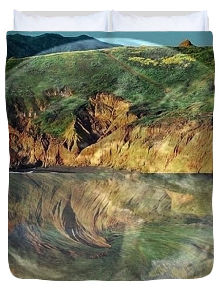 Second Nature Duvet Cover by PainterArtist FIN