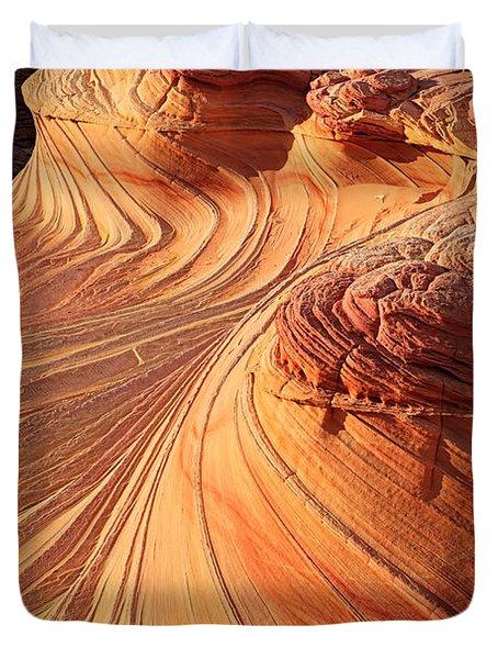 Second Wave Flow Duvet Cover