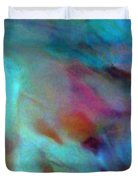 Secret Garden - Abstract Art Duvet Cover