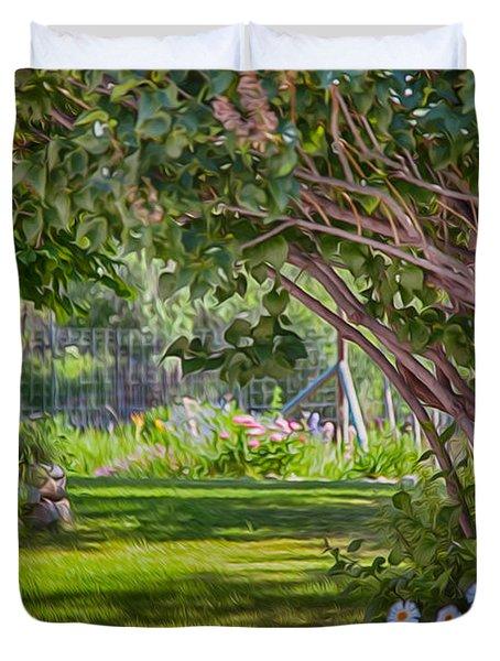 Secret Garden Duvet Cover by Omaste Witkowski