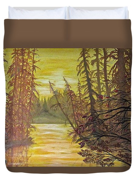 Secret Passage Duvet Cover