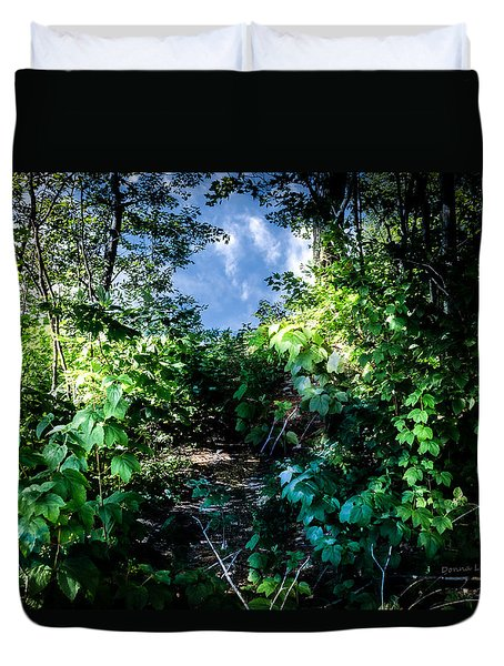 Secret Path Duvet Cover
